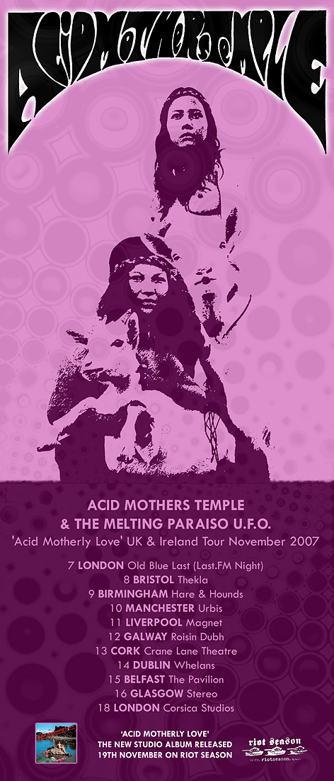 ACID MOTHERS TEMPLE Acid Motherly Love (REPOSECD016